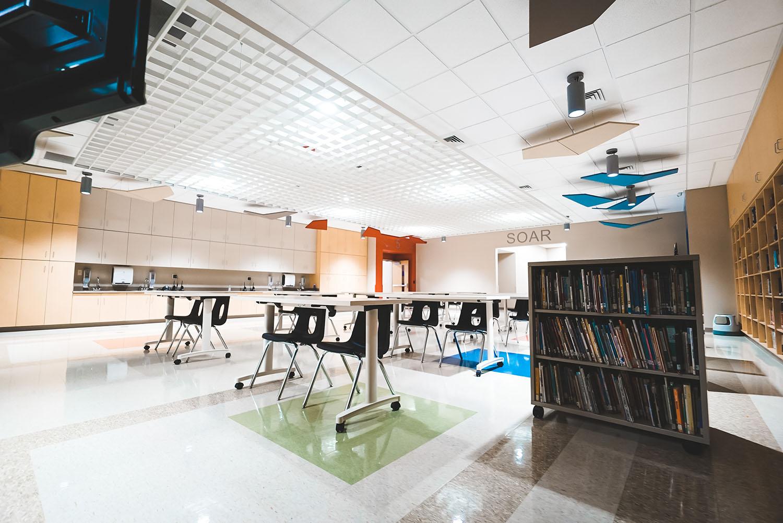 Denman Elementary School classroom