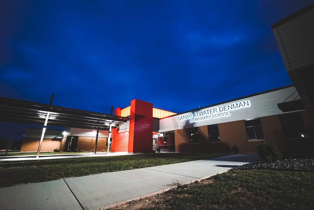 Denman Elementary School building exterior