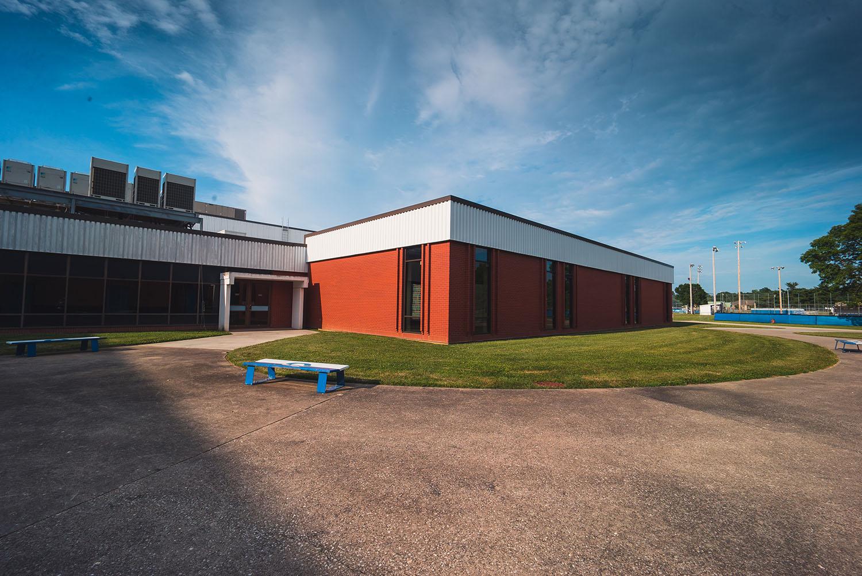 Quincy High School building exterior