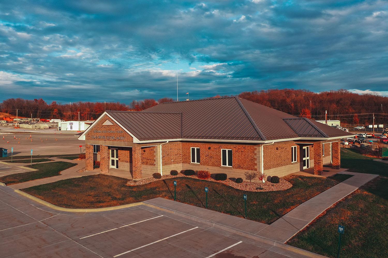 Hannibal CDL Testing Facility building