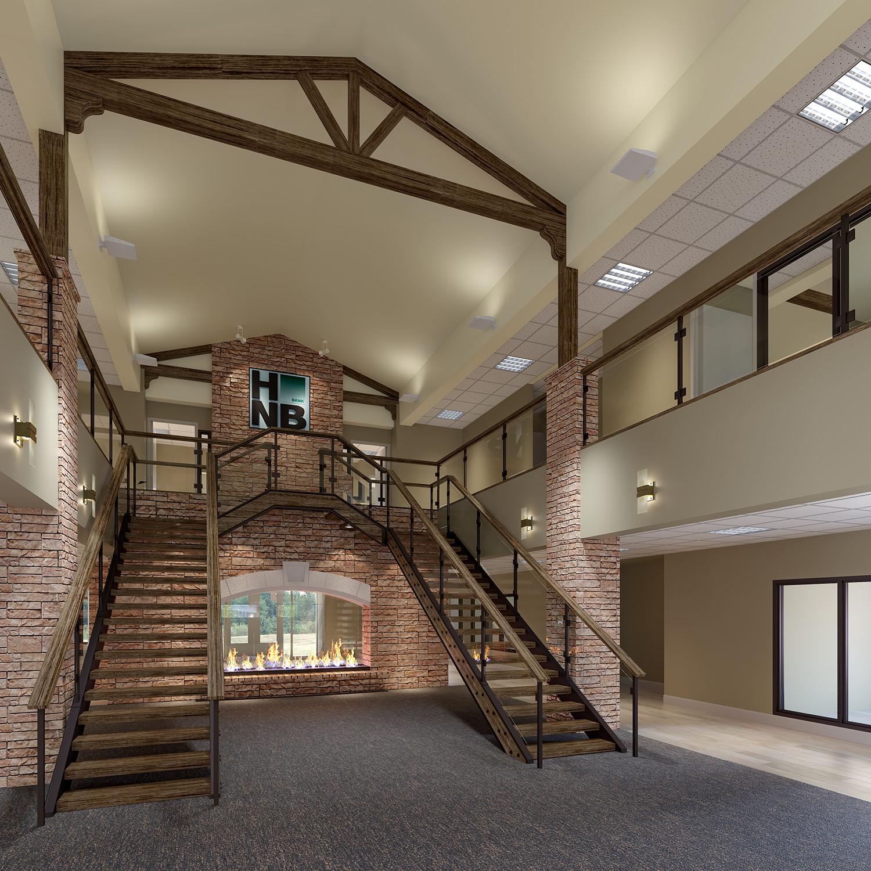 HNB building interior