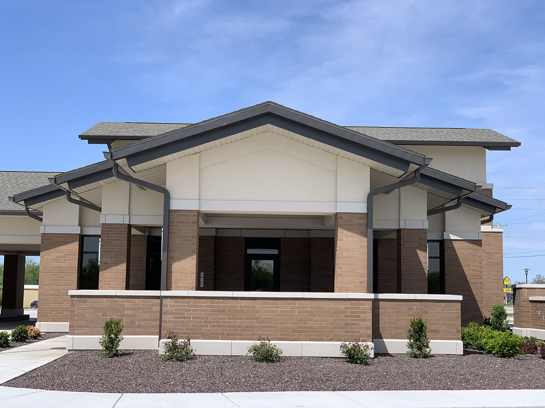 Homebank building exterior