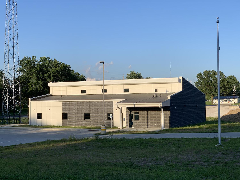Montgomery County EOC & 911 building exterior