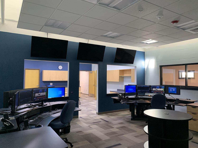 Montgomery County EOC & 911 building interior