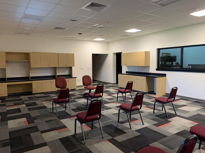 Montgomery County EOC & 911 classroom