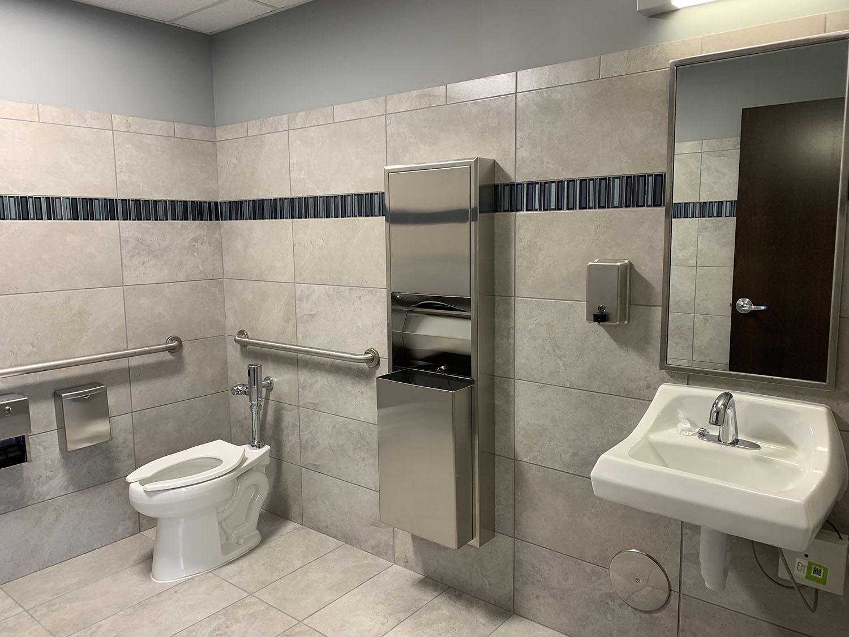 Southeast Iowa Development Center bathroom