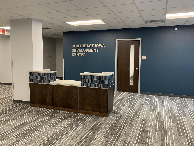 Southeast Iowa Development Center front desk