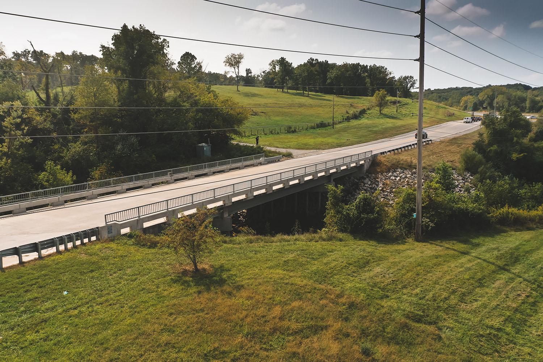 Bear Creek Bridge in Hannibal, Missouri