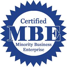 Certified MBE Minority Business Enterprise